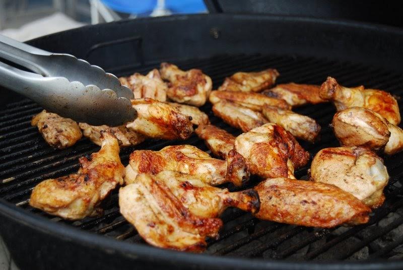 Bahama Breeze grilled jerk chicken wings