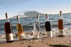 Rum Cocktails From St. Kitt's Brinley Gold Shipwreck Rum