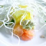 Yuzu Chiboust by Chef Ben Roche