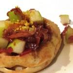 Mimis Cafe Bacon Apple Waffle