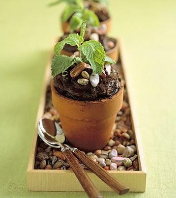 flowerpot cakes