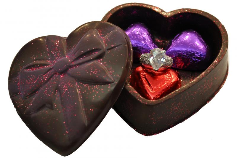 how to propose engagement chocolates