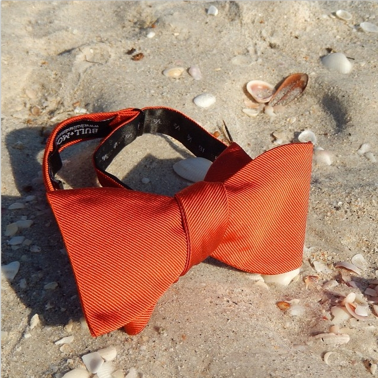 Bull-and-Moose-Sunset-Orange-Silk-Bow-Tie