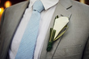 onewed-groom-grey-suit-blue-white-seersucker-tie