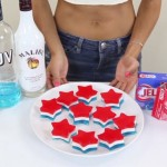 Enjoy The July 4th With Some Red, White, & Blue Jello Shots