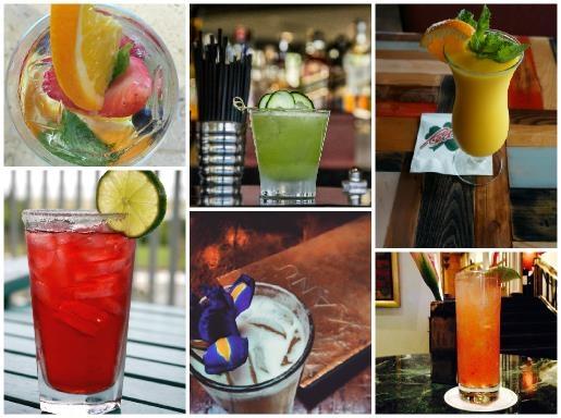 Spring Hotel Cocktails