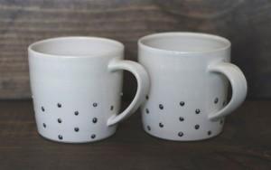 box sparrow studded coffee mug design