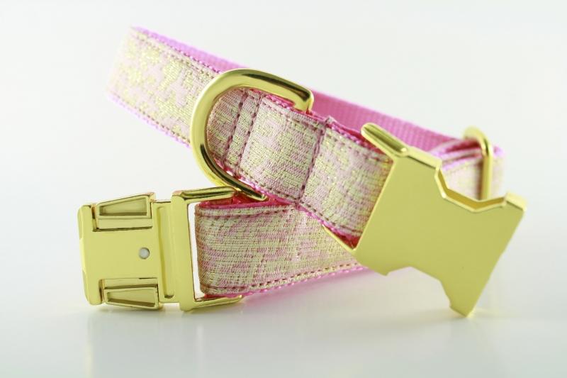 Ballerina Pink Sparkle Collar