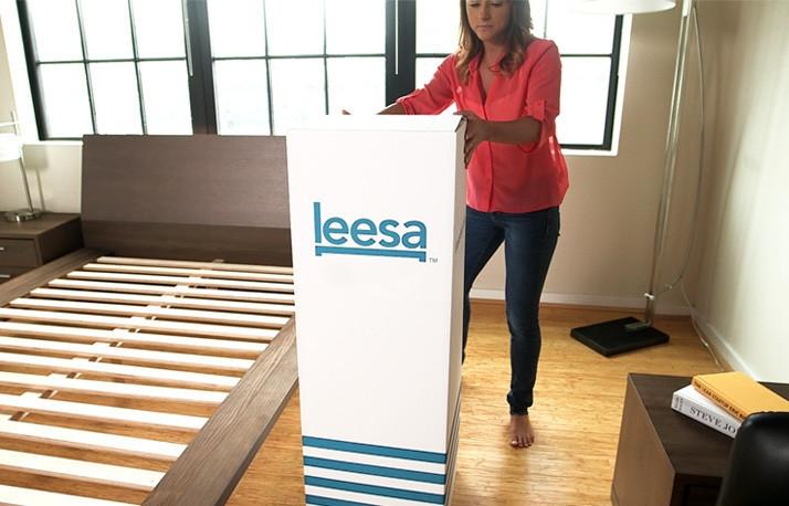 Leesa Unboxing