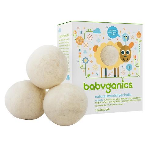 babyganics USA made wool dryer balls target
