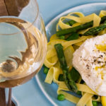Summer Wine Pairing: Grillo with Zesty Fettuccine with Asparagus and Burrata