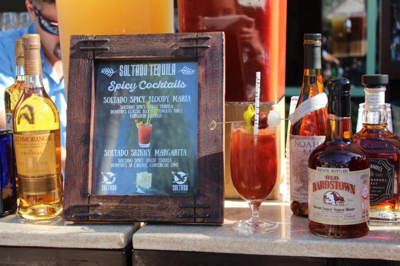 Soltado Spicy Anejo Tequila Bloody Maria Cocktail