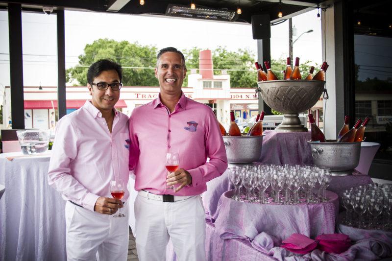 Chef Jamie McFadden & George Arredondo - Snowbirds Vintners Rosé Launch
