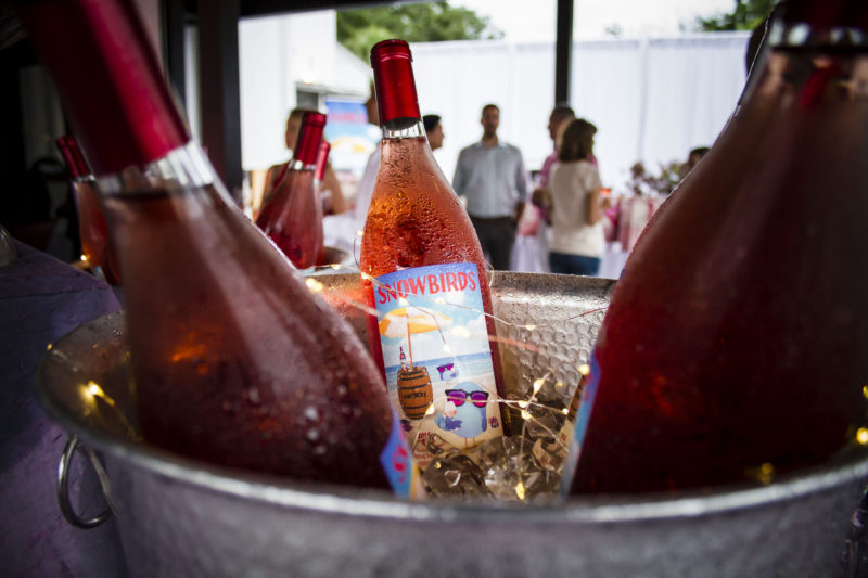Snowbirds Vintners Rose Wine Launch