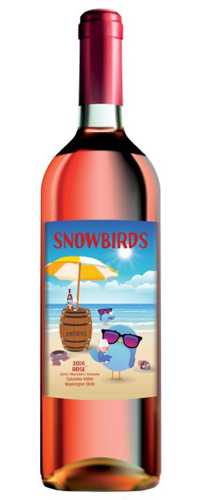 Snowbirds Vintners 2016 Rosé Wine