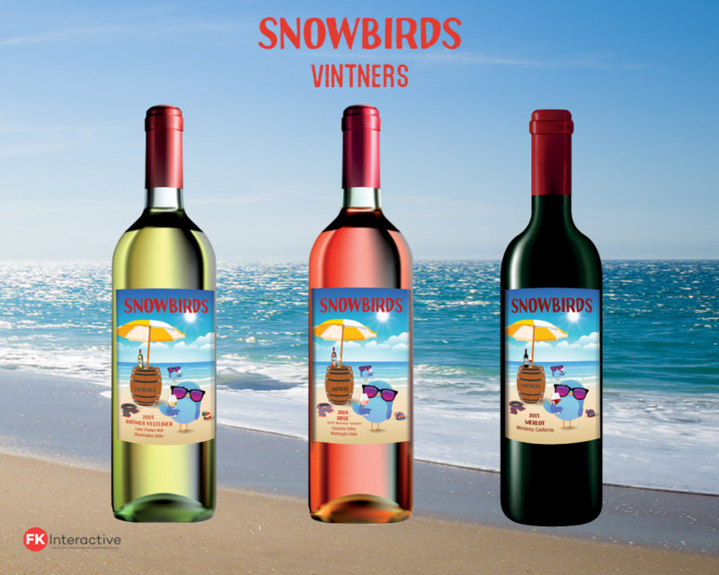 Snowbirds Vintners Small Lot Wines