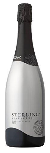 sterling vineyards blanc de blanc sparkling 2016 wine review